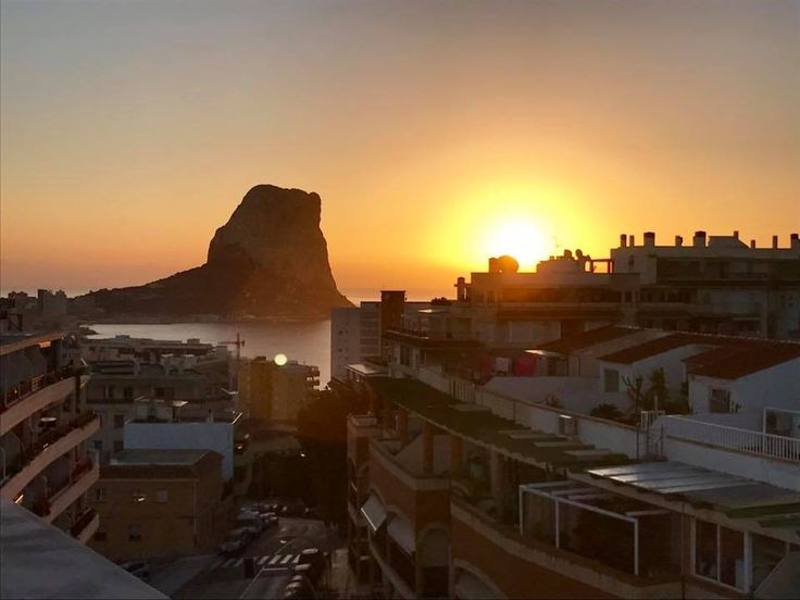 Morning Sunrise Over Calpe