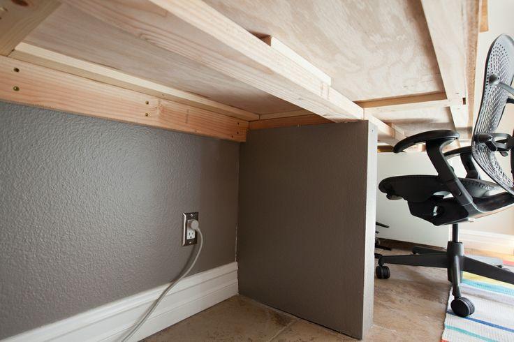 Home Office Light Wood Desk