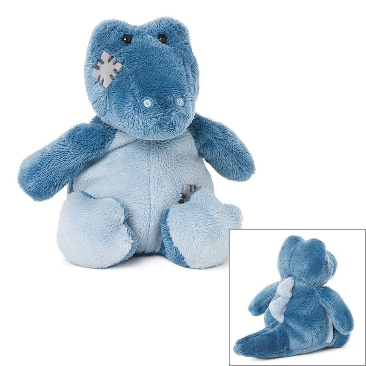 My Blue Nose Friends Soft Toy Animal MBNF Spike the Crocodile No.155