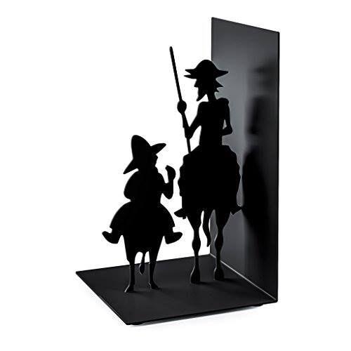 Sujetalibros de Don Quijote y Sancho http://www.milideaspararegalar.es/producto/sujetalibros-don-quijote-sancho/