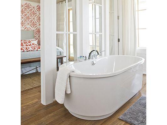 Master bathroom home and garden design idea 39 s for Home and garden bathrooms