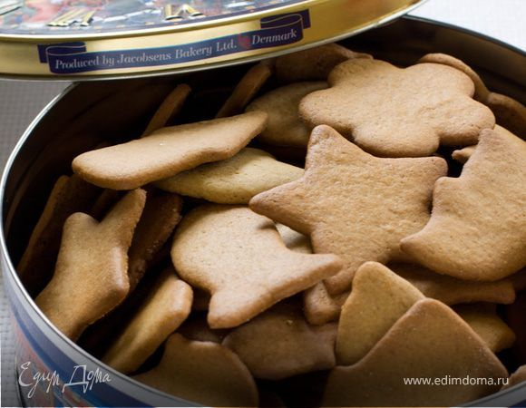 Имбирное печенье . Ингредиенты: мука, сода, яйца куриные