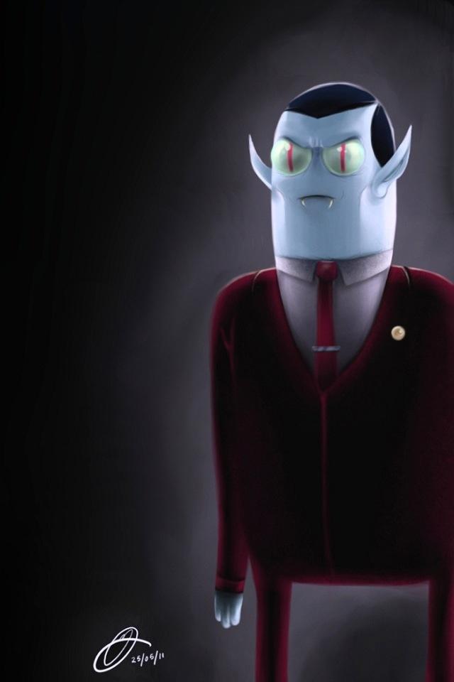 Adventure Time Challenge Day 7: My favorite villain is Hunson Abadeer