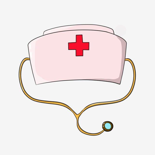 قبعة الممرضة الإبداعية الوردي كرتون زهري خلاق قبعة الممرضة Png وملف Psd للتحميل مجانا Nurse Hat Nursing Cap Pink