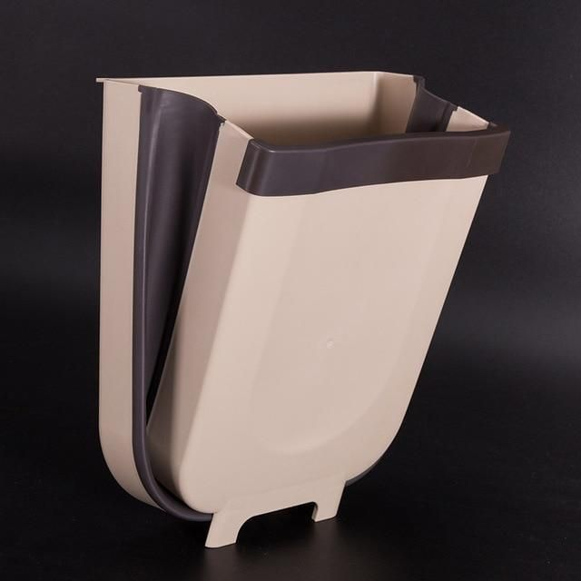 Download Wallpaper White Kitchen Rubbish Bin