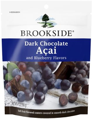 Dark Chocolate Acai Blueberry - Delicious chocolate that brings out your Brookside