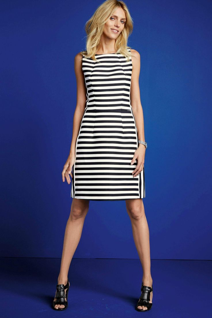 Next online party dresses - Buy Black And White Stripe Dress From The Next Uk Online Shop