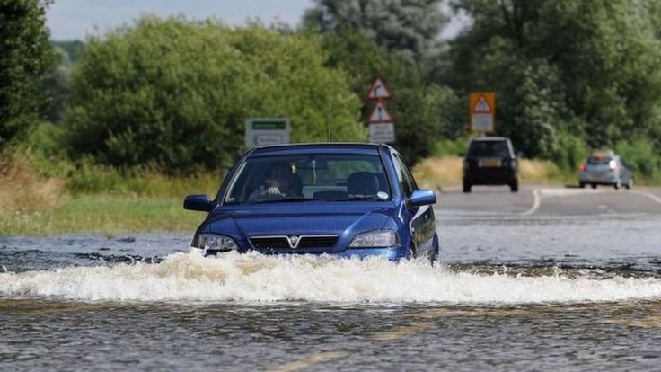 Harborough 2013 - Business owners in a Leicestershire town start counting the cost of damage caused by flash flooding.