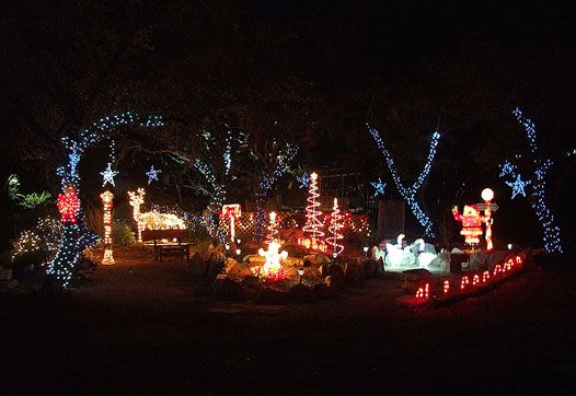 Emily Ann Theater - Trail of Lights.  A 15-year Wimberley Tradition during the Holiday Season.  FREE!