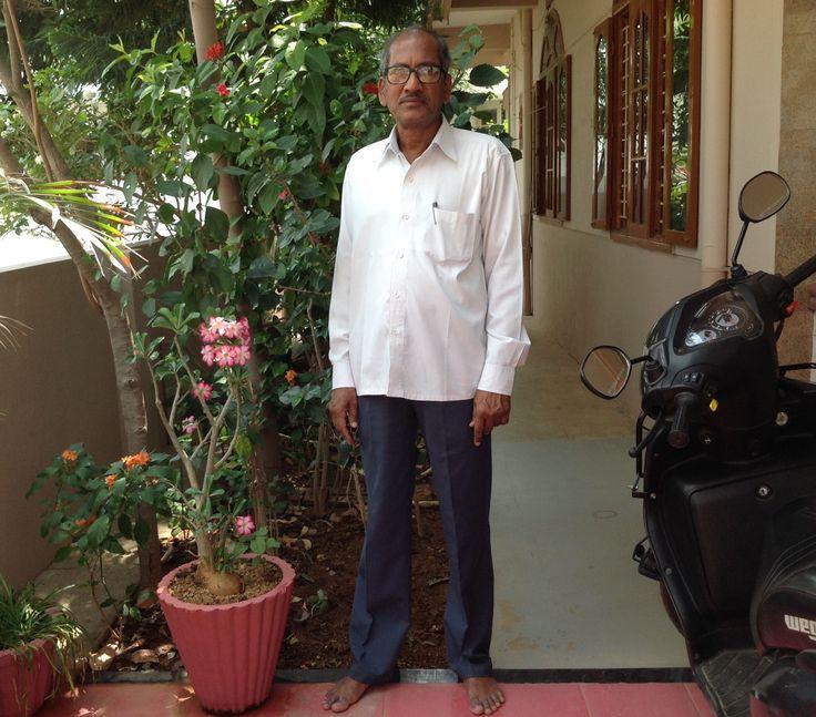 Krishnareddy at home 07-04-2016.