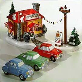 """Department 56: Products - """"Village Used Car Lot"""" - View Accessories"""