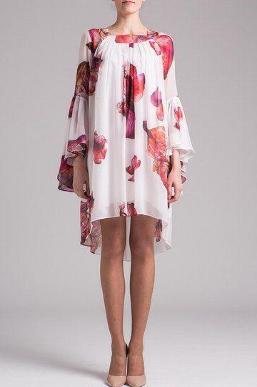 Платье из шифона от Николя Морозов. One by Morozov