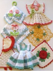 vintage crocheted
