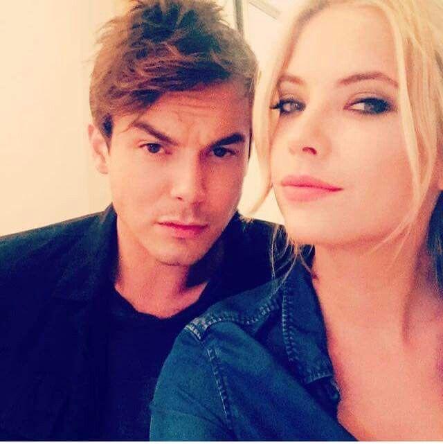 Tyler Blackburn and Ashley Benson