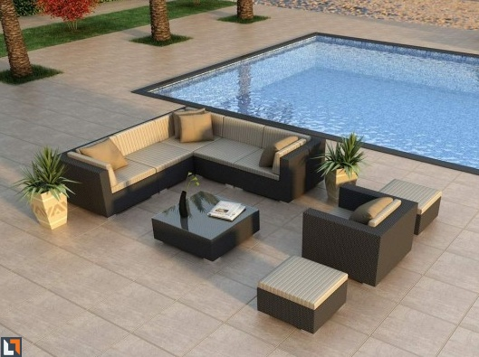 Lounging Furniture For Near Dancefloor. Modern Outdoor  FurnitureContemporary Outdoor Lounge ...