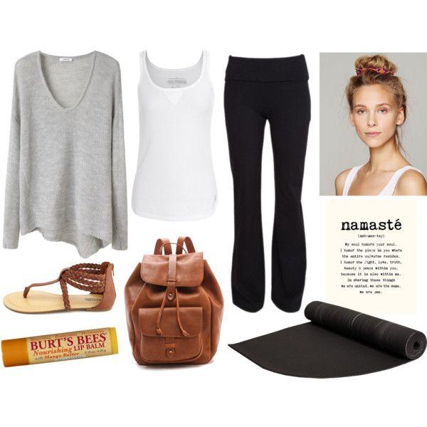 Subtle Yoga Outfit #Yoga #Namaste