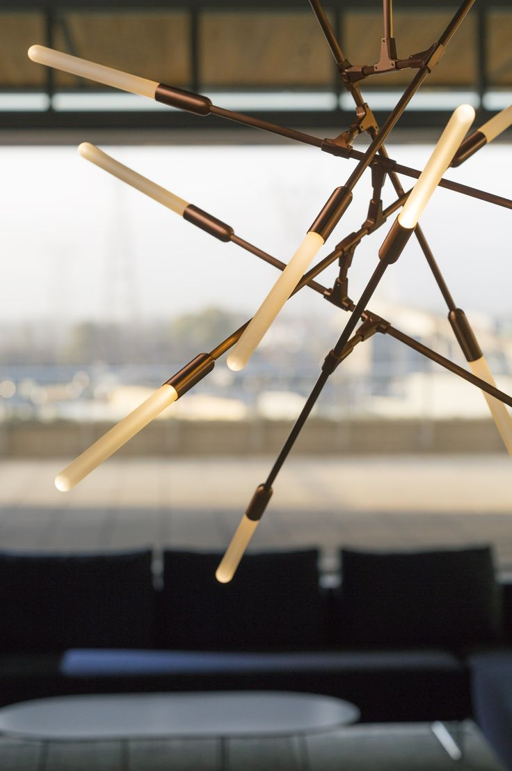 LED direct light brass pendant lamp DAWN - @Matt_McCormick