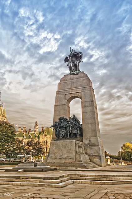 Commémoratif des Guerres - Ottawa Canada