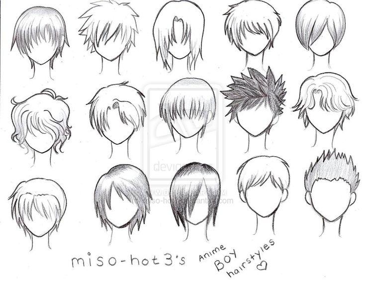 Admirable 1000 Ideas About Anime Boy Hairstyles On Pinterest Anime Boy Short Hairstyles For Black Women Fulllsitofus