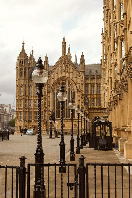 Houses of Parliament, couldn't get in without a tour. Definitely upped the security from last time.