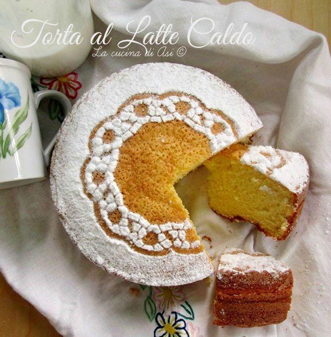 TORTA AL LATTE CALDO Ricetta semplice e buonissima