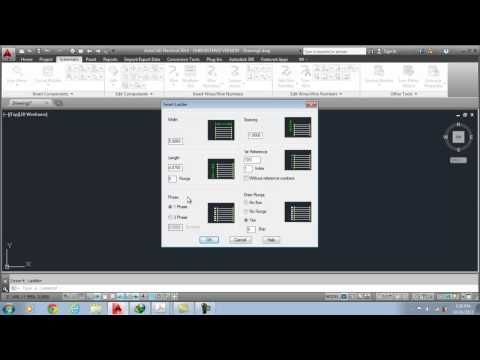 Creating and Modifying Ladders in AutoCAD Electrical 2014
