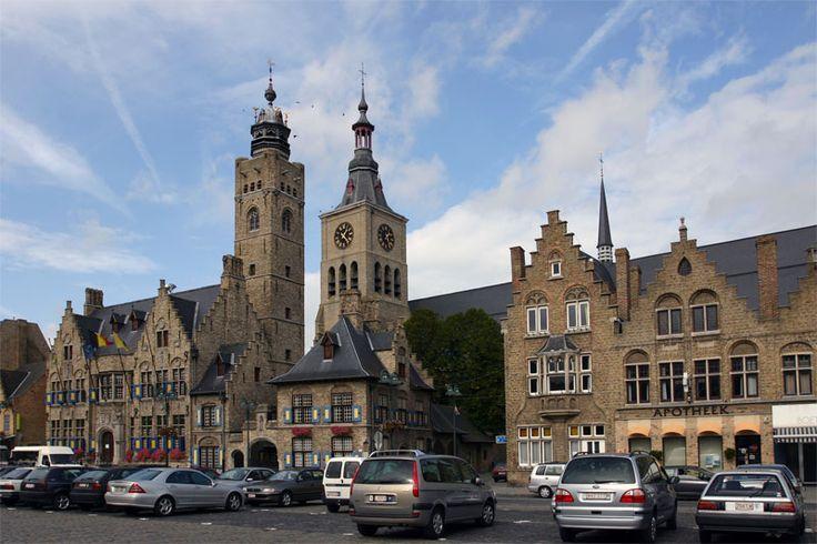 Belfry Tower, Diksmuide, Flanders Region, Belgium