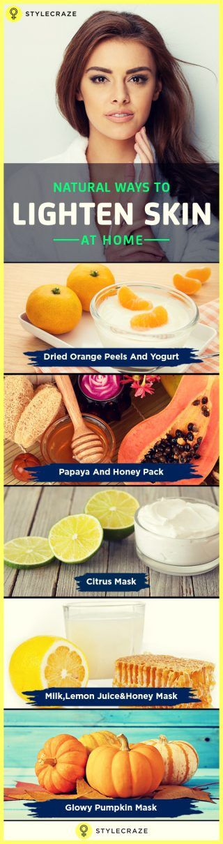 Natural Ways To Lighten Skin At Home