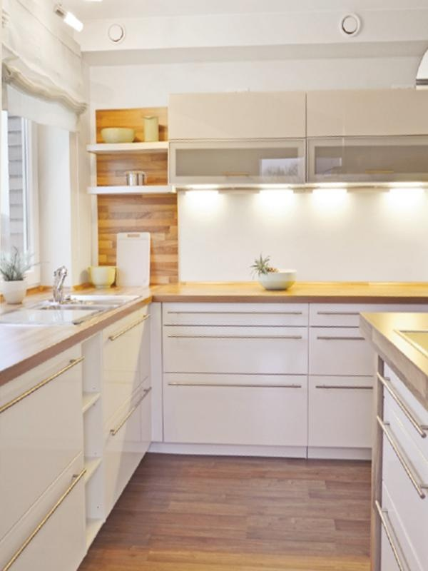 Wandgestaltung Moderne küche, Haus küchen, Küchen planung