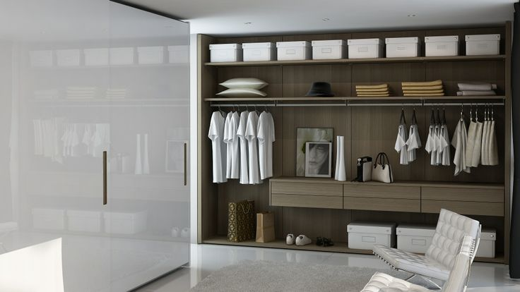 Bila Closet and Wardrobe by Hans Krug of Charlotte, NC.