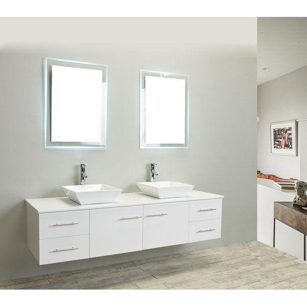 Vinit 72 Double Bathroom Vanity Set With Images Double Vanity Bathroom Bathroom Vanity Remodel Vintage Bathroom Vanities