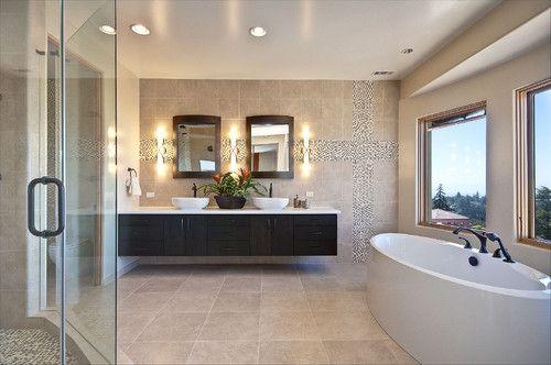 Die besten 17 Bilder zu Bathrooms I u003c3 auf Pinterest Home Design - badezimmer design badgestaltung