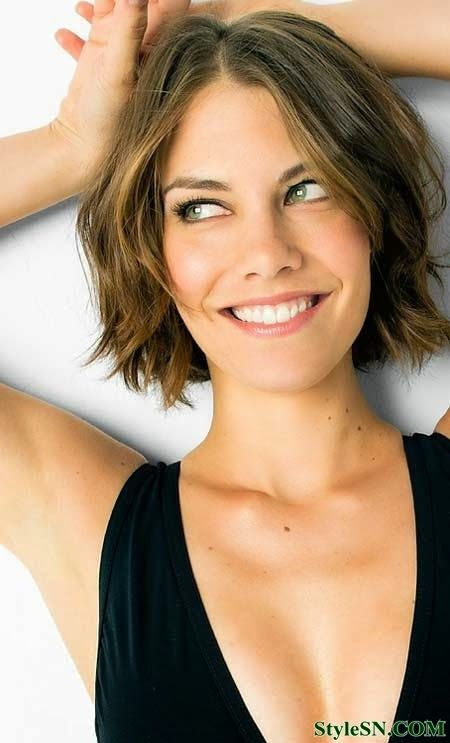 Wavy Short Hairstyles 2014 new short hairstyles
