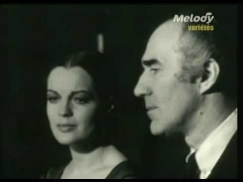 Romy Schneider & Michel Piccoli - La Chanson d'Hélène | Sacha Show 1970 ...