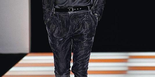 Pantalon velur 2013-2014