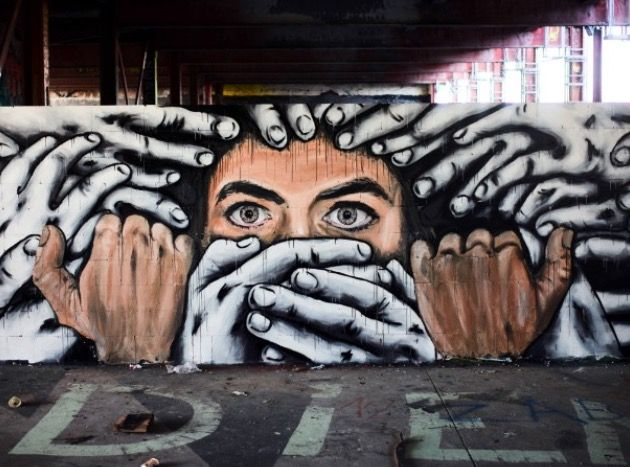 """Silenced"" by Ala Niz + Zabou in Berlin (LP)"