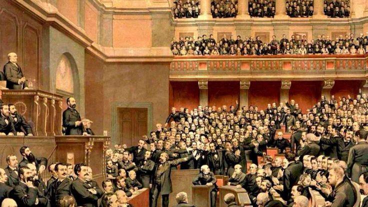 4 septembre 1870 : Léon Gambetta proclame la République au balcon de l'hôtel de ville de Paris, la IIIème. via @LeMondeHistoire