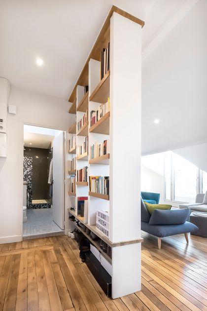 Un loft rénové par l'agence A/K architectures