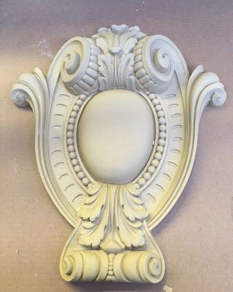 """This is our Louis XIV cartouche #7755.  It is 15½""""x22"""""""