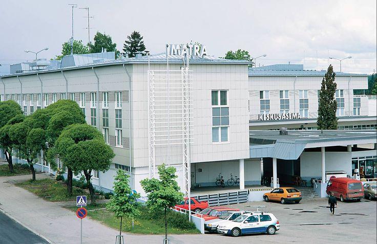 Imatran keskusasema Julkisivu ABL Laatat
