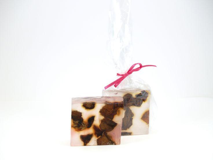 Argan oil soap with Rose essense oil