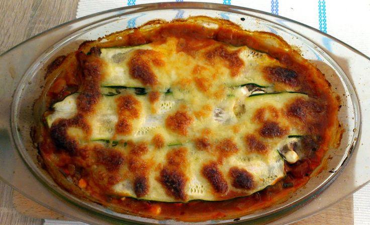 Cukinové (bezlepkové) lasagne