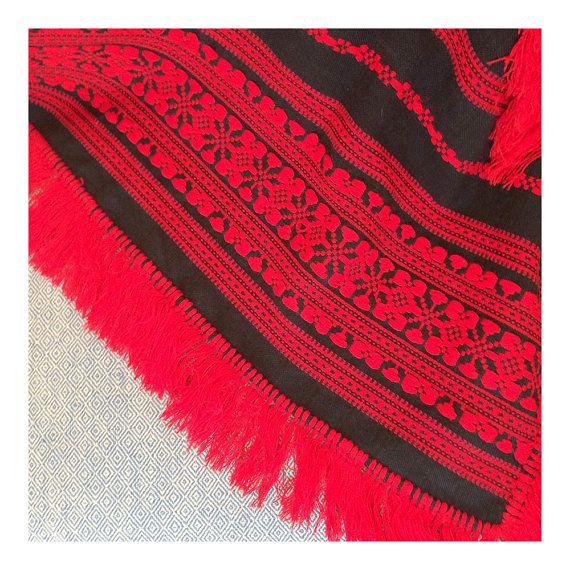 Small Scandinavian Tablecloth   Woven Linen by JustSmashingDarling
