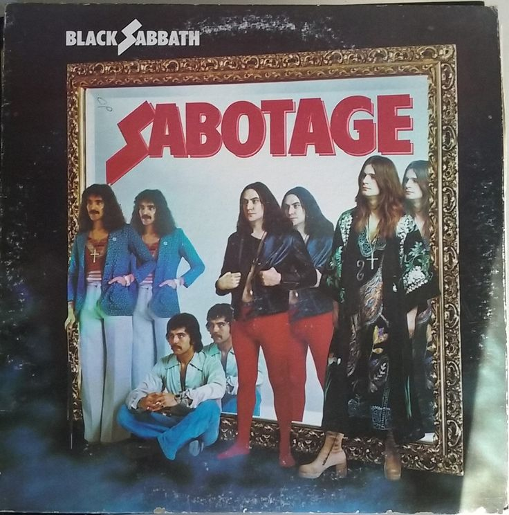 Black Sabbath, Sabotage, Vintage Record Album, Vinyl LP, Classic Heavy Metal Rock Music, British Rock Band, Ozzy Osbourne by VintageCoolRecords on Etsy