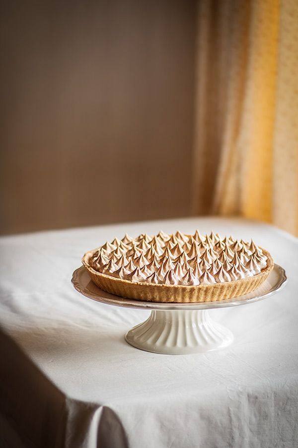 Tarta de limón y merengue, lemon meringue pie