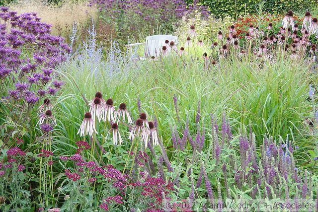 Scampston Hall.  Piet Oudolf, garden designer
