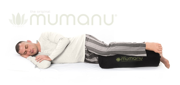 An awesome pillow that relieves lower back and hip pain while you sleep and during the day www.mumanu.com