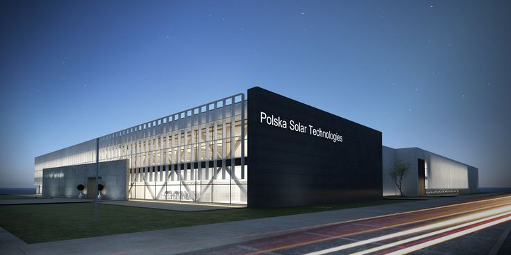 Plant for the production of solar cells. Poland.