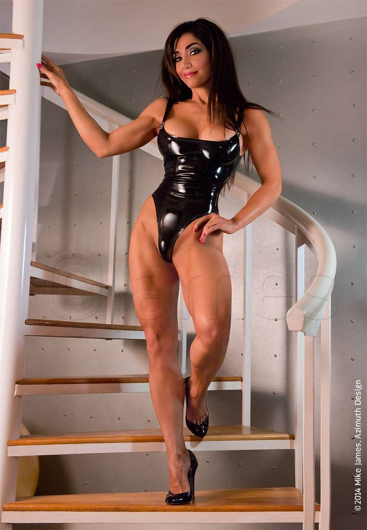 Anybody's sexy muscle girl worship hot and