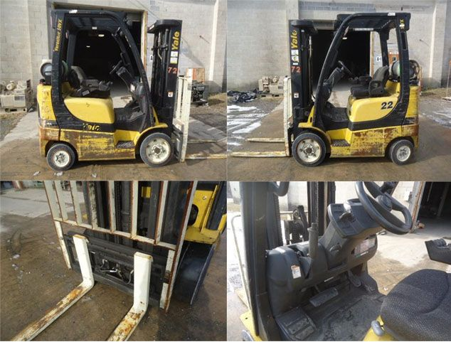 "Get Best Deal on Used 2006 Yale Forklift with Free Price Quotes by Access Lift Equipment, Inc. for $ in Chambersburg, PA, USA. The Used Yale Forklift available in very good condition with all best features as 5,000lb Capacity, LPG, 83/188 3-Stage Mast, LBR, 42"" Forks, Side-Shift. It's maintained very well and runs good. You can see more information with all photos At: http://goo.gl/qbCDe3"